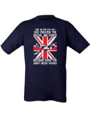 God Created the Royal Air Force T-shirt